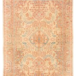 "Antique Oushak Rug 6'11""×9'8"""