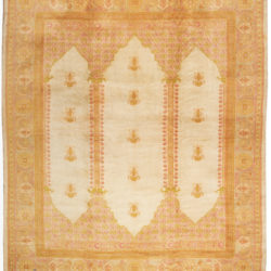 "Antique Oushak Rug 12'0""×14'0"""