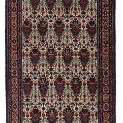 "Antique Persian Abadeh 3'8""×6'2"""