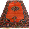 "Antique Persian Afshar 6'7""×13'1"""