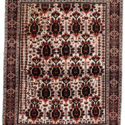 "Antique Persian Afshar 5'0""×6'3"""