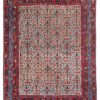 "Antique Persian Afshar 5'1""×6'7"""
