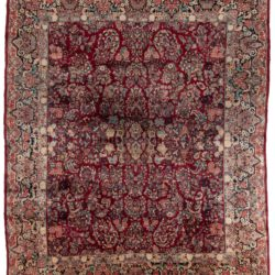 "Antique Persian Amoud 12'0""×14'0"""