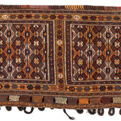 "Antique Persian Arab Khamseh Bag 2'6""×4'6"""