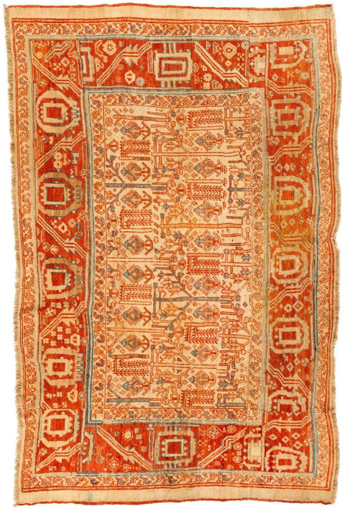 "Antique Persian Bakhshaish 5'9""×9'0"""