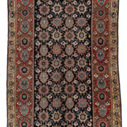 "Antique Persian Bakhtiari 7'1""×13'6"""