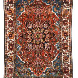 "Antique Persian Bakhtiari 7'4""×10'1"""