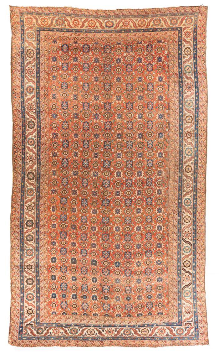 "Antique Persian Bakshaish 10'6""×19'6"""