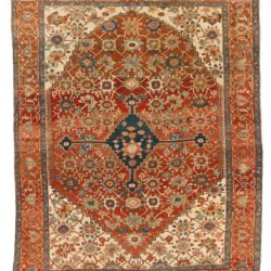 "Antique Persian Bakshaish 10'2""×12'10"""