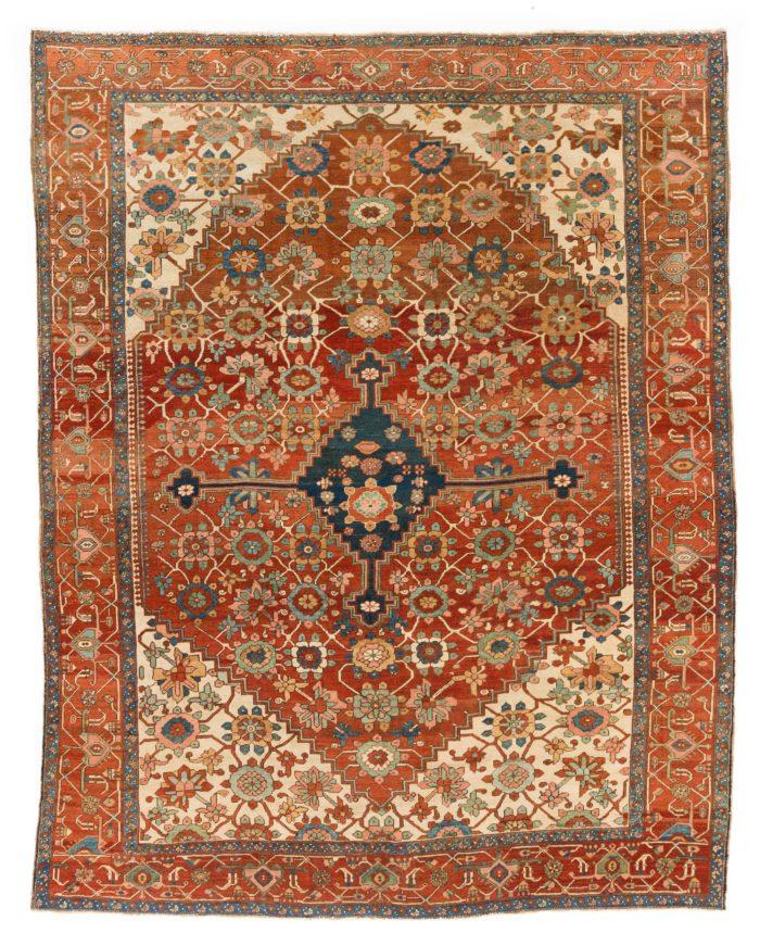 "Antique Persian Bakshaish 10'2""×12'10"""