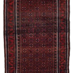 "Antique Persian Balouch Main Carpet 5'7""×9'5"""