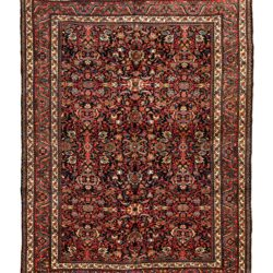"Antique Persian Bidjar 8'7""×11'5"""