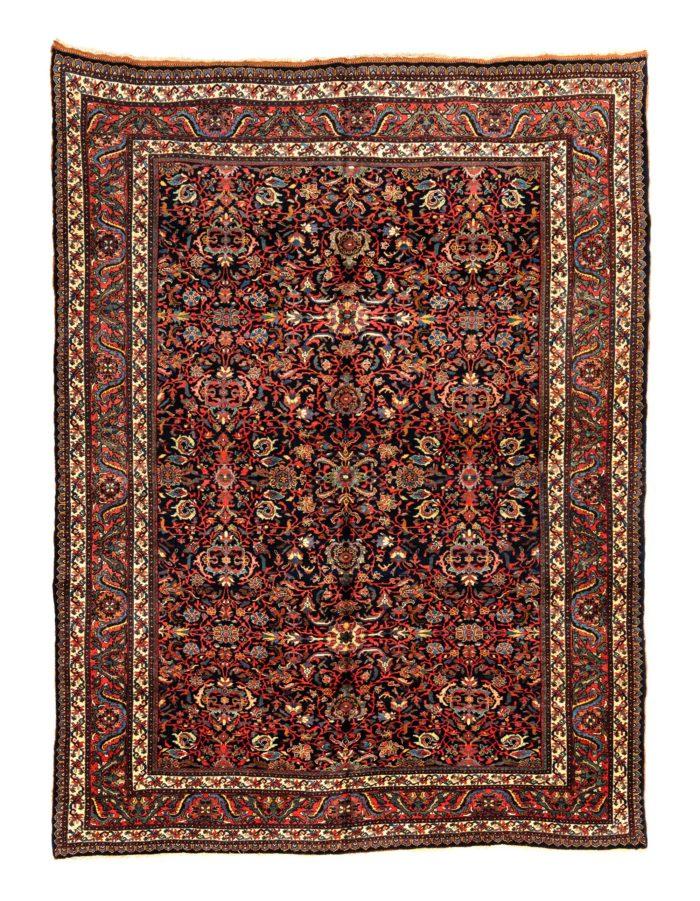 """Antique Persian Bidjar 8'7""""×11'5"""""""