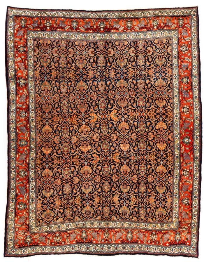 """Antique Persian Bidjar 8'3""""×11'0"""""""