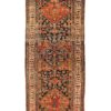 "Antique Persian Bidjar Runner 4'0""×10'6"""