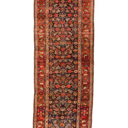 "Antique Persian Bidjar Runner 3'7""×10'6"""