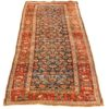 """Antique Persian Bidjar Runner 3'7""""×10'6"""""""
