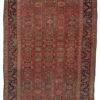 """Antique Persian Bijar 4'5""""×5'5"""""""