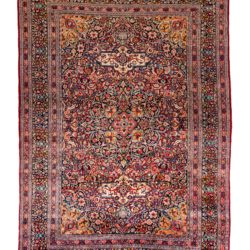 "Antique Persian Birjand 8'6""×12'0"""