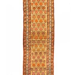 "Antique Persian Camel Hair Serab 3'0""×13'8"""