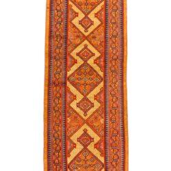 "Antique Persian Camel Hair Serab 4'0""×15'10"""