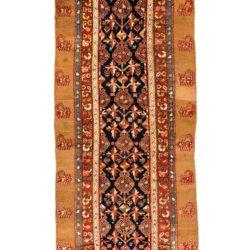 "Antique Persian Camel Hair Serab 4'9""×15'1"""