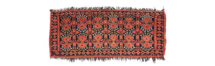 "Antique Persian Ersari Torba 1'5""×3'6"""