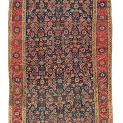 "Antique Persian Farahan 6'9""×18'0"""