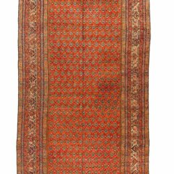 "Antique Persian Fereghan 8'5""×21'0"""
