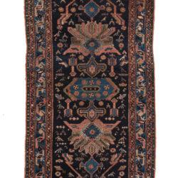 "Antique Persian Hamadan 2'10""×5'1"""