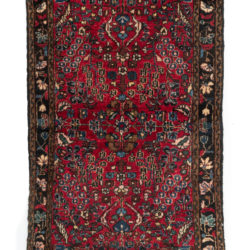 "Antique Persian Hamadan 2'5""×4'1"""