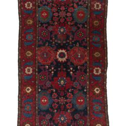 "Antique Persian Hamadan 5'6""×17'6"""