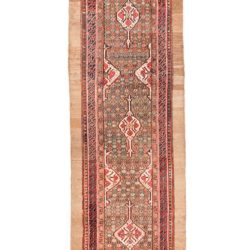"Antique Persian Hamadan 3'2""×16'6"""