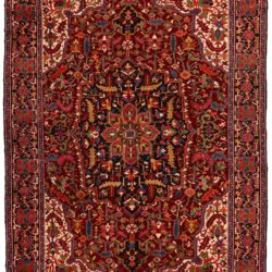 "Antique Persian Heriz 8'6""×10'6"""