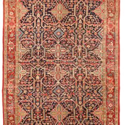 "Antique Persian Heriz 7'7""×10'8"""