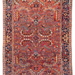 "Antique Persian Heriz 7'7""×10'7"""