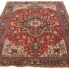 "Antique Persian Heriz Rug 7'8""×10'11"""