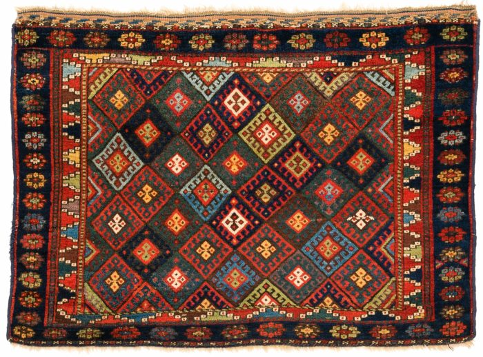 "Antique Persian Jaf Kurd Bagface 2'9""×3'11"""
