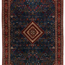 "Antique Persian Josheghan 11'0""×18'4"""