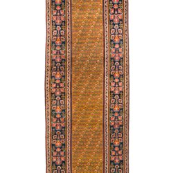"Antique Persian Josheghan 3'4""×14'1"""