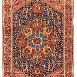 "Antique Persian Karadja Heriz 7'0""×10'7"""