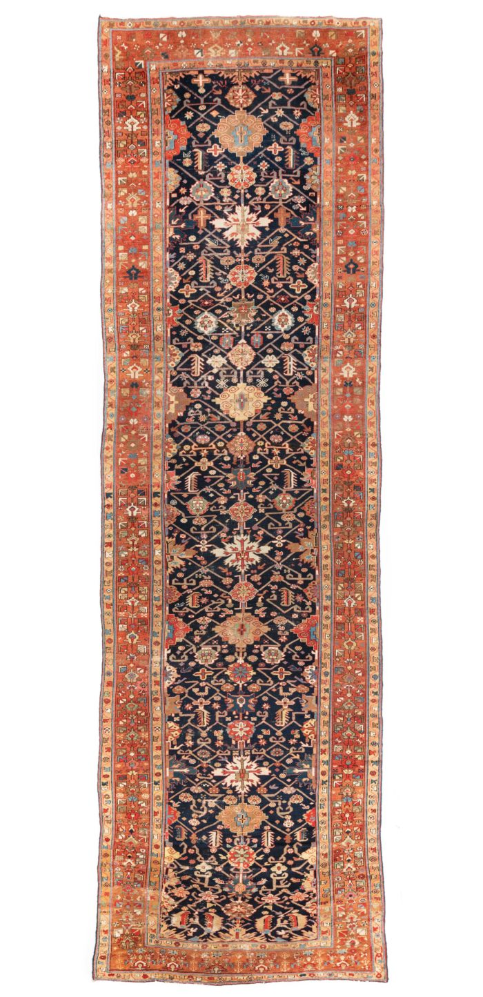 "Antique Persian Karaja 5'11""×19'8"""