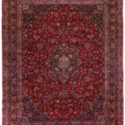 "Antique Persian Kashan 11'3""×14'1"""