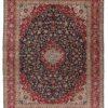 """Antique Persian Kashan 10'0""""×13'4"""""""