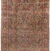 """Antique Persian Kashan Large Rug 10'3""""×14'0"""""""