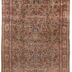 "Antique Persian Kashan Large Rug 10'3""×14'0"""