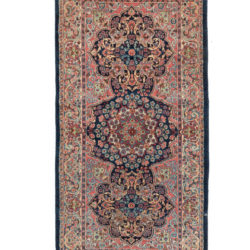"Antique Persian Kerman 2'6""×5'0"""