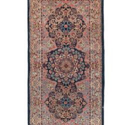 "Antique Persian Kerman 2'6""×5'0"""