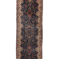 "Antique Persian Kerman Runner 3'0""×18'7"""