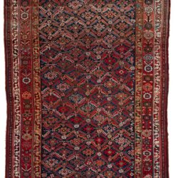"Antique Persian Khamseh 5'7""×10'2"""